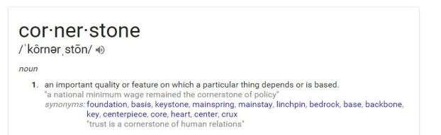 cornerstone-definition