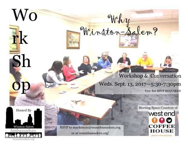 workshop with west end coffeehouse sept 13