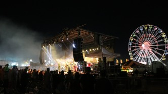 stage and wheel